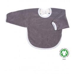 Popolini hagesmæk forklæde med ærmer grå-20