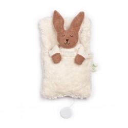 Nanchen kanin i sovepose med godnat musik-20