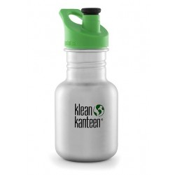 Klean Kanteen 355 ml. drikkedunk børstet stål sportscap-20