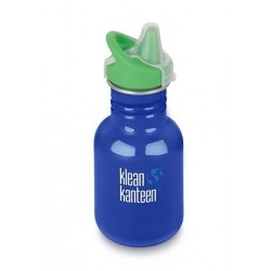 Klean Kanteen 355 ml. Coastal Waters sippy cap-20