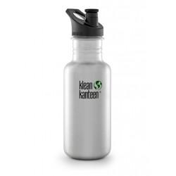 Klean Kanteen 532 ml. drikkedunk børstet stål sportscap-20