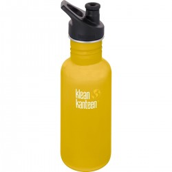 Klean Kanteen 532 ml. drikkedunk lemon curry sportscap-20