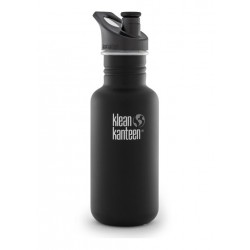 Klean Kanteen 532 ml. drikkedunk Shale Black sportscap-20