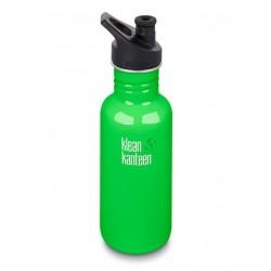 Klean Kanteen 532 ml. drikkedunk Spring Green sportscap-20