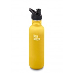 Klean Kanteen 800 ml. Lemon Curry sportscap-20