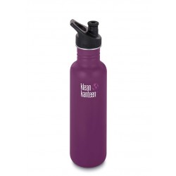 Klean Kanteen 800 ml. Winter Plum sportscap-20
