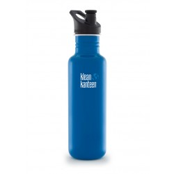 Klean Kanteen 800 ml. Blue Planet sportscap-20