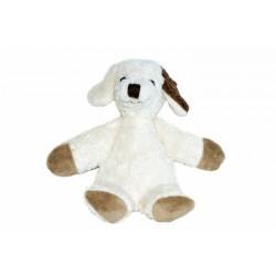 Kallisto økologisk bamse lille hvid hund-20