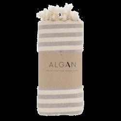 Algan Kavun badehåndklæde 85x180 cm. grå-20