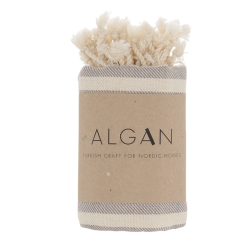 Algan Kavun gæstehåndklæde 45x90 cm. grå-20