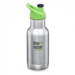 Klean Kanteen 355 ml. med sportscap termoflaske stål-20