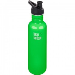 Klean Kanteen 800 ml. spring green sportscap-20