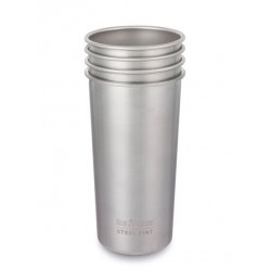 Klean Kanteen 4 kopper i stål 592 ml-20
