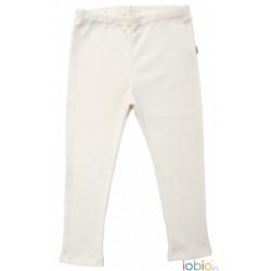 Iobio legging uld and silke GOTS natur-20