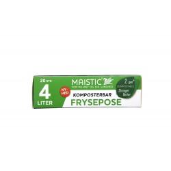 Maistic Bio Group plastfri frysepose 4 liter 20 stk.-20