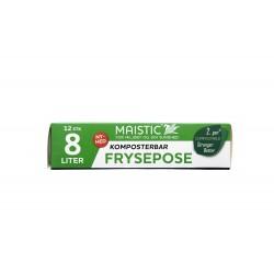 Maistic Bio Group plastfri frysepose 8 liter 12 stk.-20