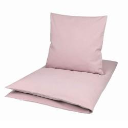 Müsli sengesæt ensfarvet rosa flere størrelse-20