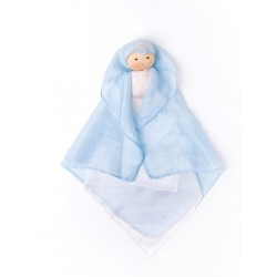 Nanchen silkedukke blå-20