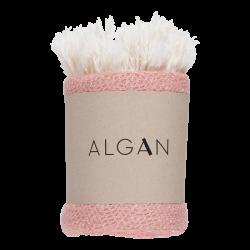 Algan Nane gæstehåndklæde 65x100 cm. gammelrosa-20