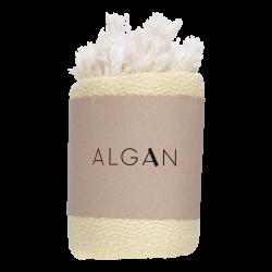 Algan Nane gæstehåndklæde 65x100 cm. gul-20
