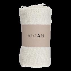 Algan Nane badelagen 100x180 cm. råhvid-20