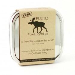 Pulito madkasse i stål cube-20