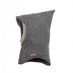 Pure Pure elefanthue økologisk uldfleece grå-20