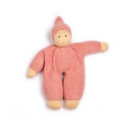 Nanchen dukke 24 cm. støvet rosa-20