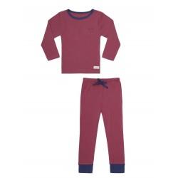 Snork Copenhagen pyjamas vintage red-20