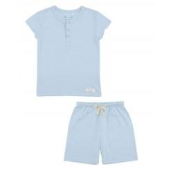 Snork Copenhagen Wilhelm pyjamas sky blue-20