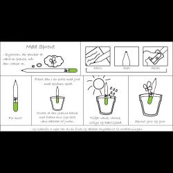 Sprout plant din blyant flere varianter-20