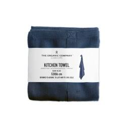 The Organic Company viskestykke dark blue-20