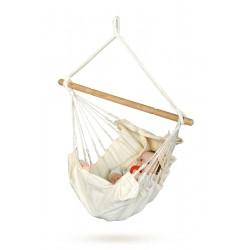 Babyhængekøje økologisk bomuld uden stativ-20