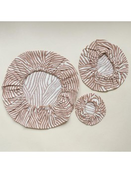 Haps Nordic 3-pak cotton covers terracotta wave-20