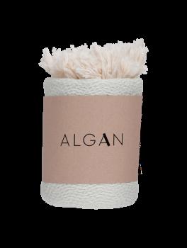Algan Nane gæstehåndklæde 65x100 cm. mint-20