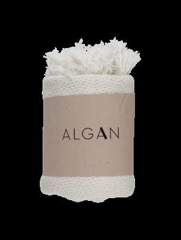 Algan Nane gæstehåndklæde 65x100 cm. råhvid-20