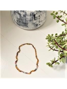 Rav halskæde voksen rav-månesten-quartz and labradorit-20