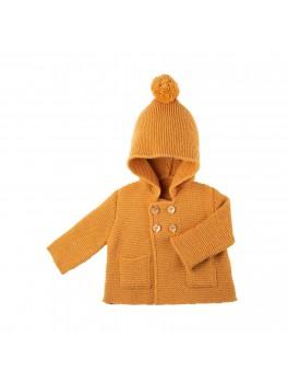 Pure Pure jakke alpaca and merinould amber-20