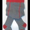 Grödo | strømpebukser | bomuld-gots | grå m. hjerter-01