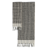 Algan Ahududu gæstehåndklæde 45x100 cm. sort-01