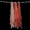Algan Dolu plaid eller tæppe 110x190 cm. terracotta-01