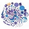 Grimms byggesæt dream pebbles lilla-01