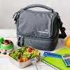 LunchBots køletaske grå-01