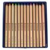 Stockmar farveblyanter trekantede 12+1-01