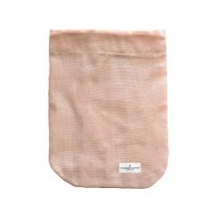 The Organic Company - brødpose - flere størrelser - pale rose