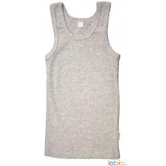 Iobio - undertrøje - GOTS bomuld - grå melange