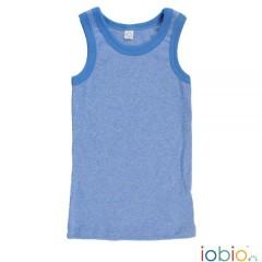 Iobio - undertrøje - GOTS bomuld - blå melange