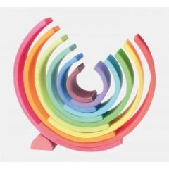 Grimms - stor regnbue - 12 dele - klassiske farver