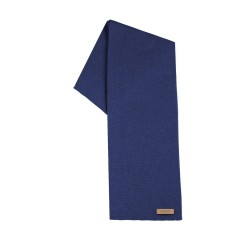 Pure Pure - tube halstørklæde - uld/silke/bomuld - marineblå