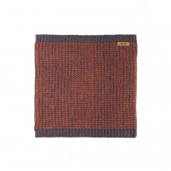 Pure Pure - halsedisse - uld/silke/bomuld - grå/terracotta